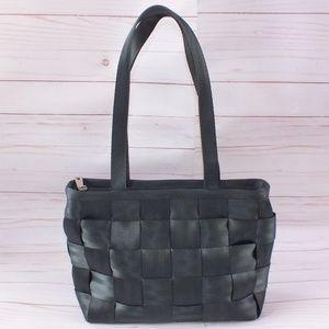 Harvey's Seatbelt Bag Large Tote Black Purse